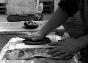 Lavorazione calco a mano